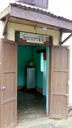 De receptie het hotel in Ranomafana
