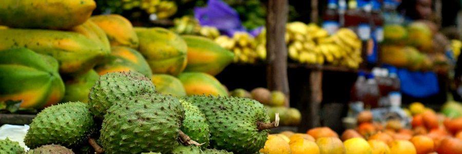 Fruit market Madagascar