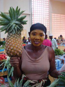 big pineapples on madagascar