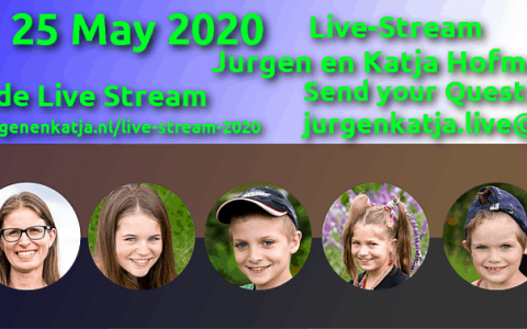 Live-Stream 25 mei 2020